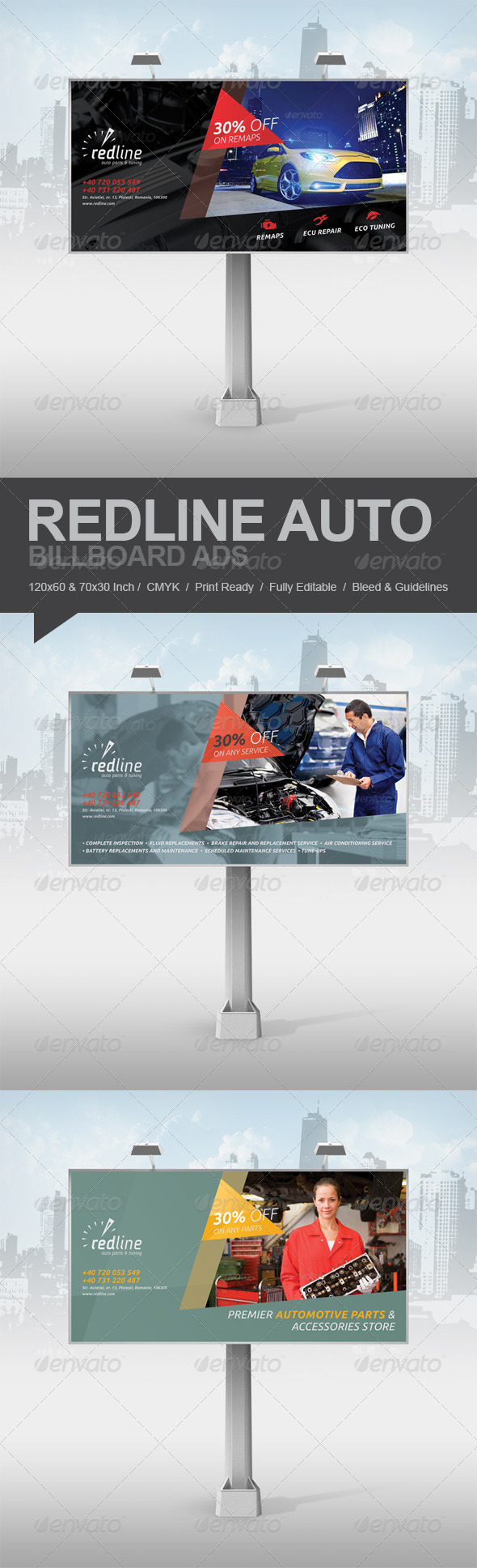 GraphicRiver Redline Billboard Ads 5747150