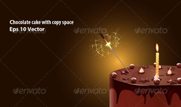 GraphicRiver Chocolate Cake 5747576