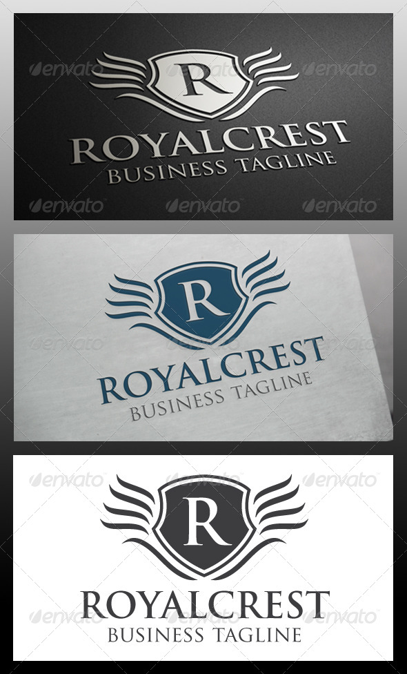 Real Crest Logo Template