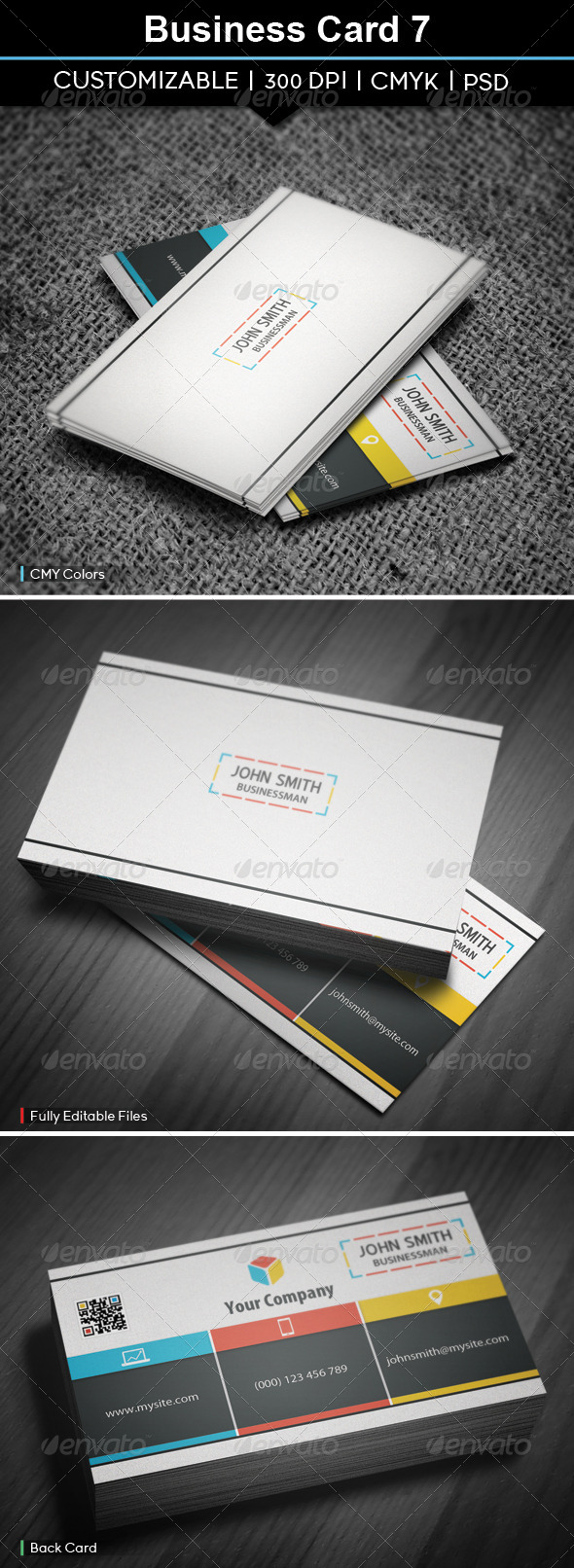 GraphicRiver Business Card 7 5748552