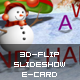 3D-Flip Slideshow eCard XML - ActiveDen Item for Sale