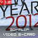 3D-Flip Video e-Card XML  - ActiveDen Item for Sale