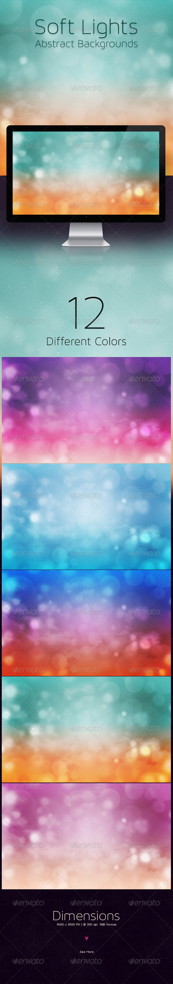 GraphicRiver Soft Lights Abstract Backgrounds 5748970