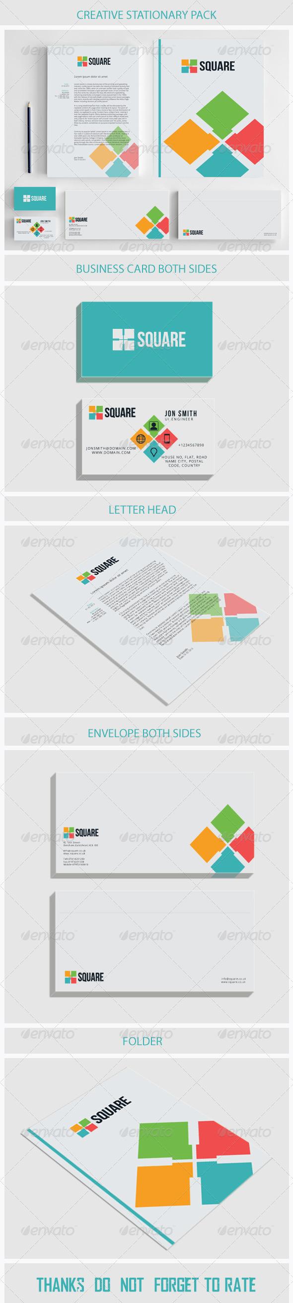 GraphicRiver Creative Stationary 5749013