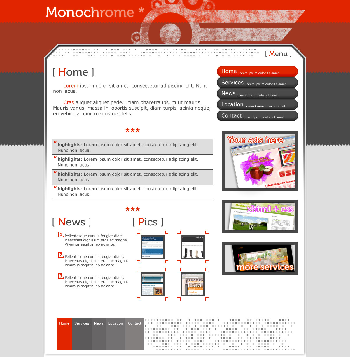 """Monochrome - Some javascript could be use to create nice popups, something like <a href=""""http://leandrovieira.com/projects/jquery/lightbox"""" target=""""_blank"""">Jquery lightbox plugin</a>"""