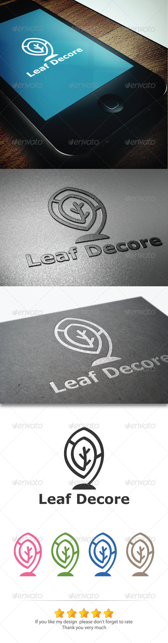 GraphicRiver Leaf Decore 5750072