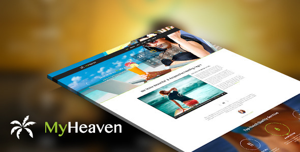 ThemeForest My Heaven Online Booking PSD Template 5694165