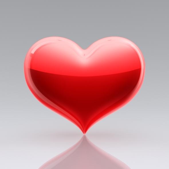3DOcean Heart Icon 5753134