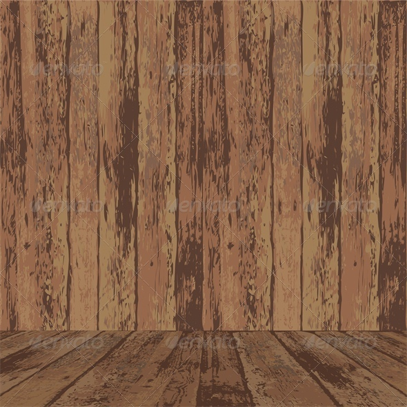 GraphicRiver Grunge Background with Wooden Texture Surface 5753333