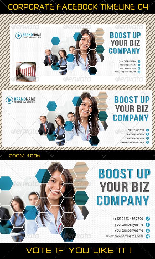 GraphicRiver Corporate Facebook Timeline 04 5753568