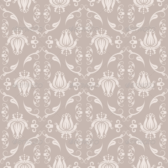 GraphicRiver Damask Pattern 5754408
