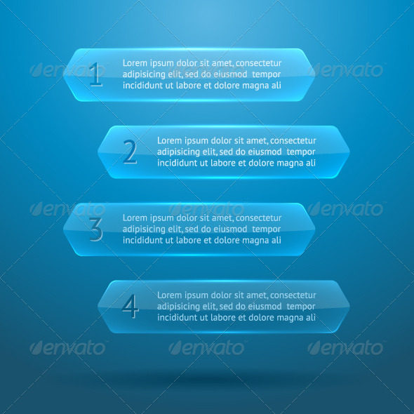 GraphicRiver Glass Elements of Infographics 5754658