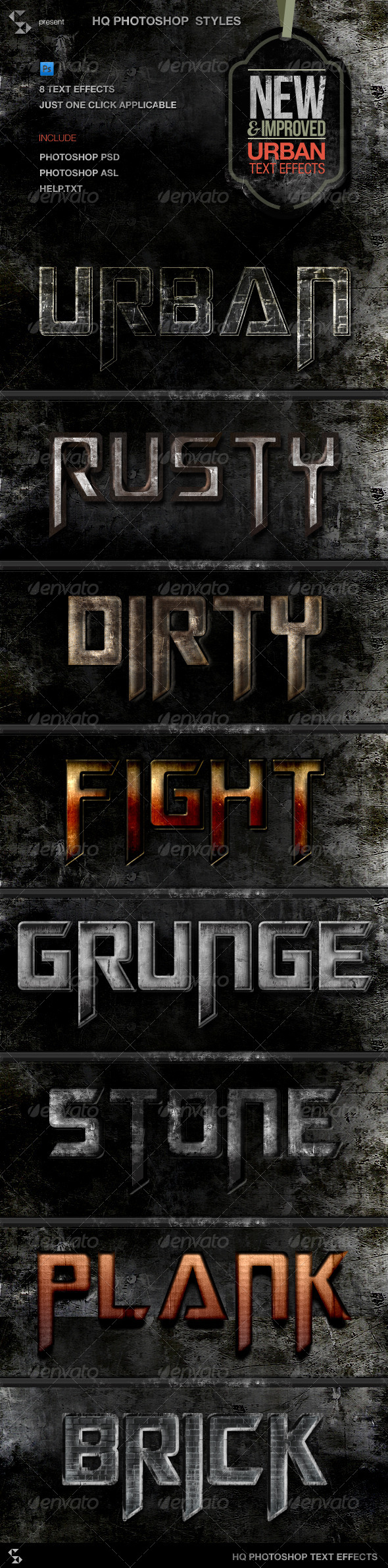 GraphicRiver Urban Grunge Text Effects 5754992