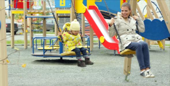 Playful Swinging