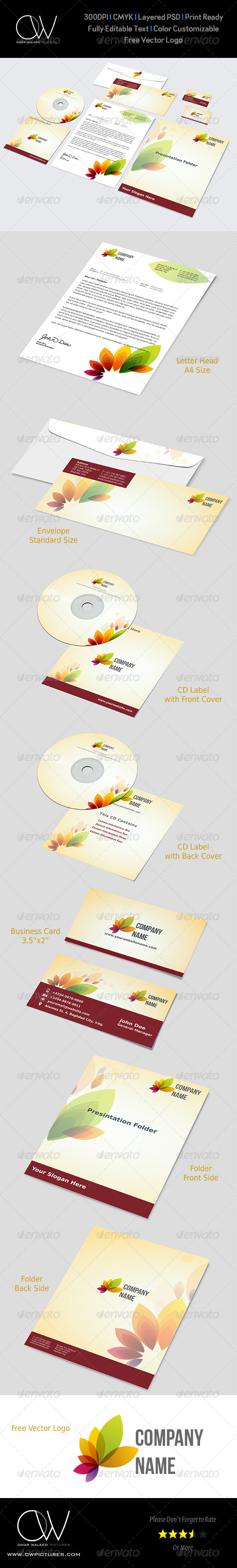 GraphicRiver Corporate Stationery Pack Vol.7 4829865