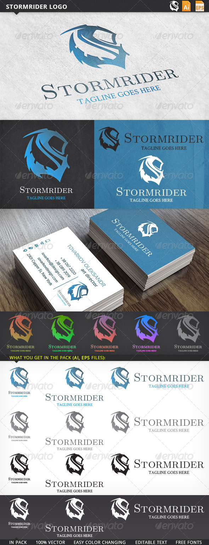 GraphicRiver Stormrider Logo 5756339