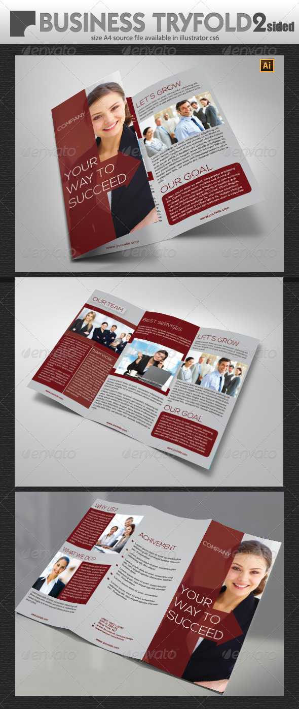 GraphicRiver Business Tri-Fold Design 5756531