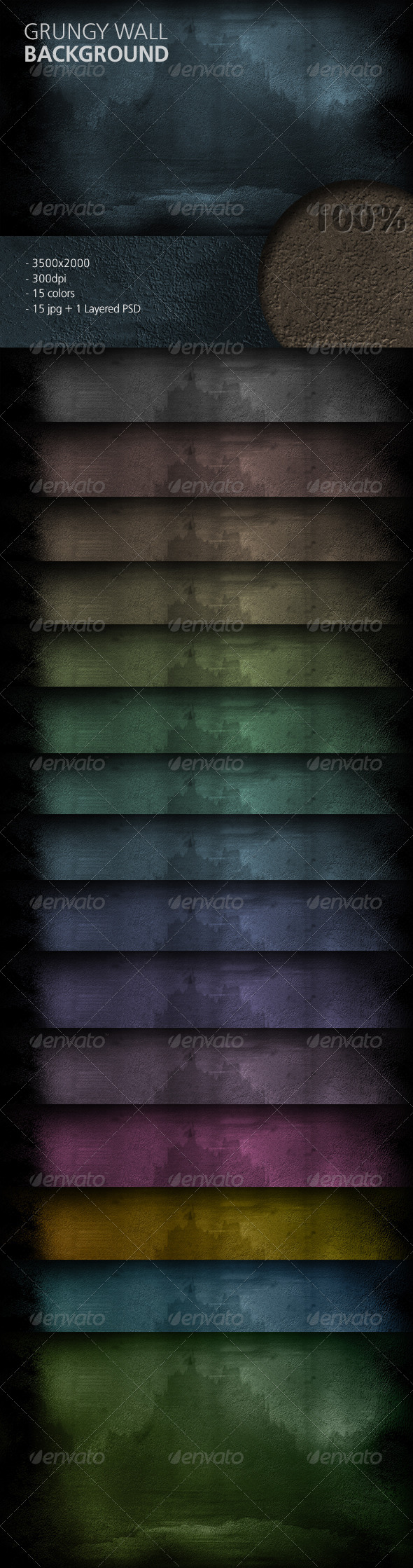 GraphicRiver Grungy Wall Background 5756572