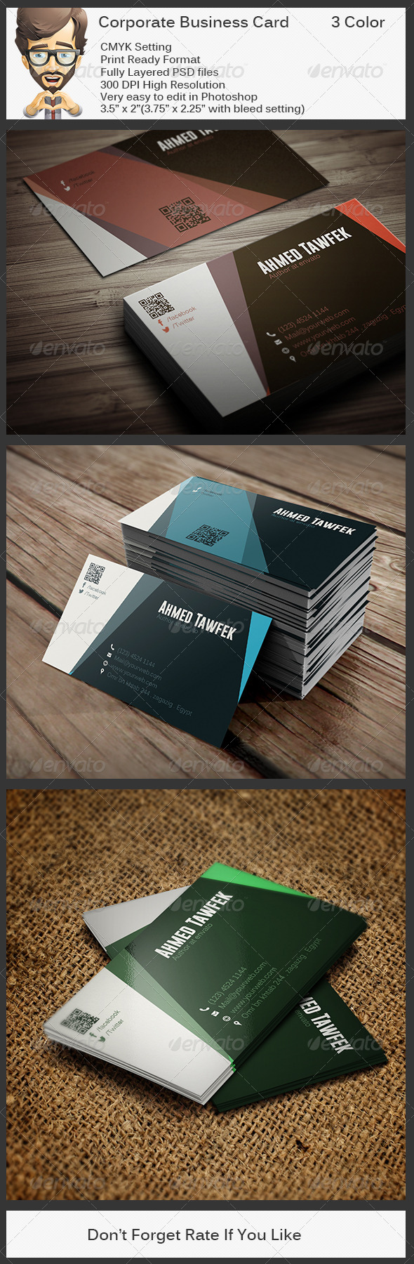 GraphicRiver Corporate Business Card 5757034