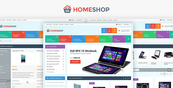 ThemeForest Home Shop Retail PSD Template 5757657