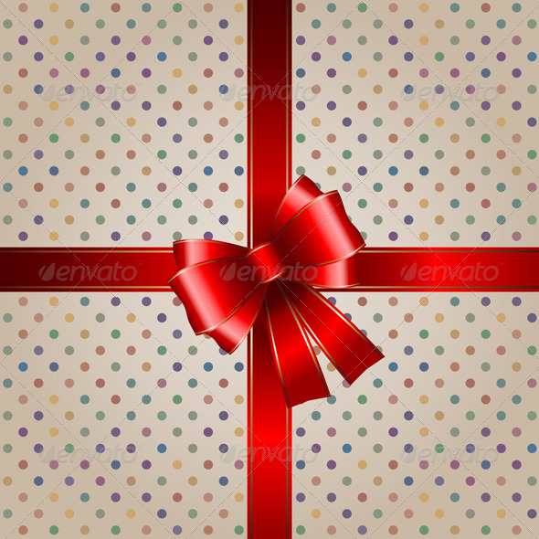 GraphicRiver Gift background 595301