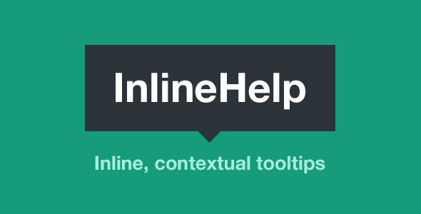 CodeCanyon InlineHelp Contextual Tooltips for your Site 5757869