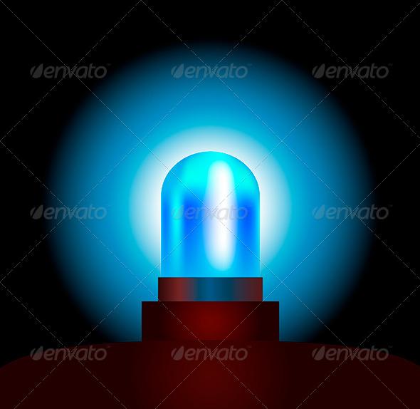 GraphicRiver Blue Light 5758055