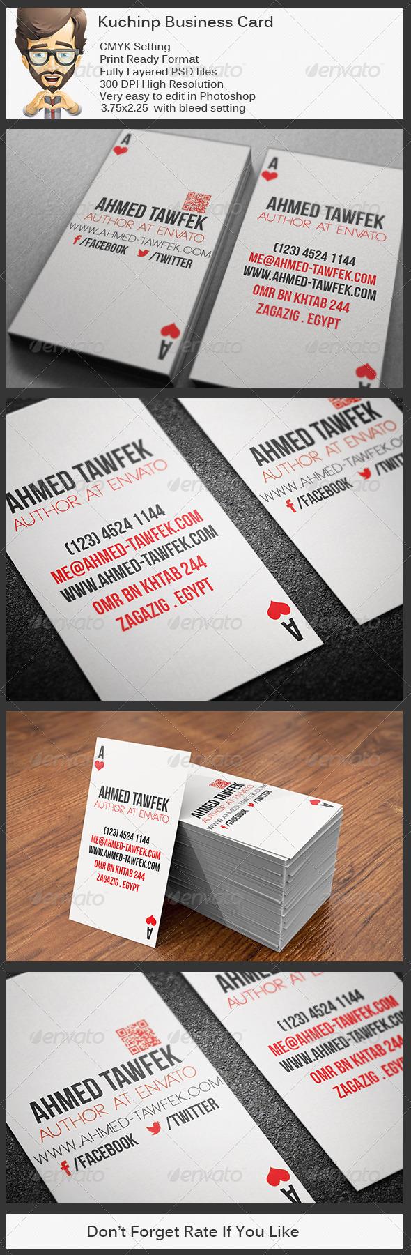 GraphicRiver Kuchinp Business Card 5759059