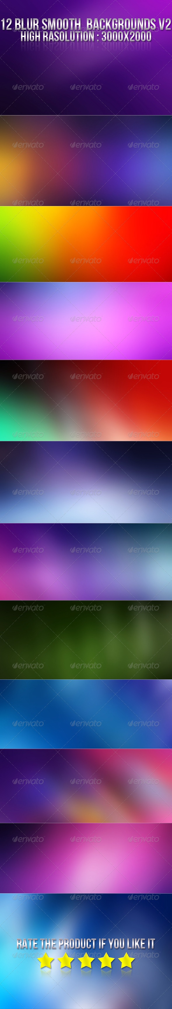 GraphicRiver 12 Smooth Blur Backgrounds V2 5759251