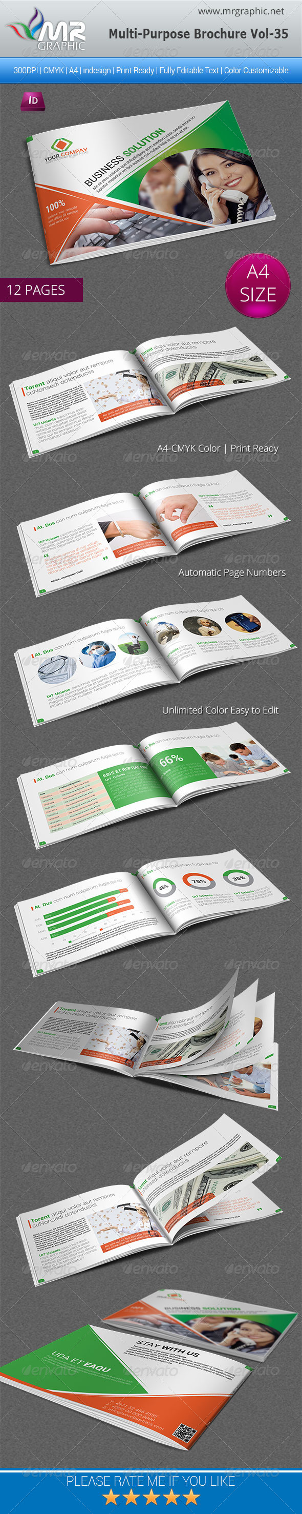 GraphicRiver Multipurpose Business Brochure Template Vol-35 5759378