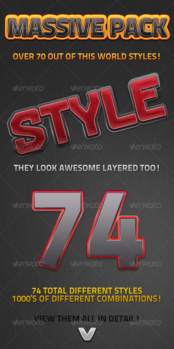 GraphicRiver Massive Style Pack 5759628