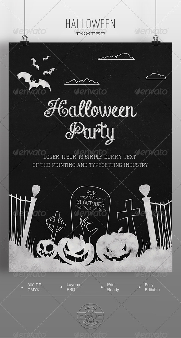 GraphicRiver Halloween Poster 5760871