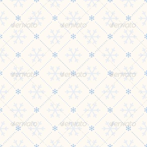 GraphicRiver Vector Seamless Winter Retro Pattern 5761107