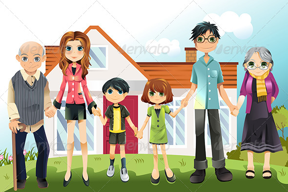 GraphicRiver Multi Generation Family 5761705