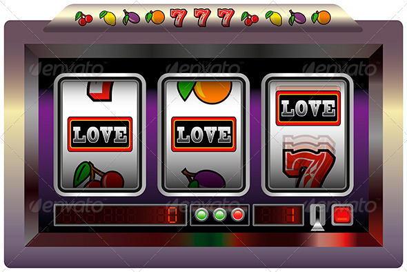 GraphicRiver Slot Machine Love 5765144