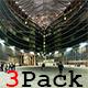 Timelapse Of People In Modern Walkway 2 Pack - 4