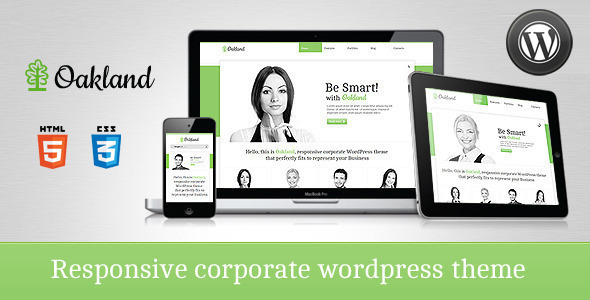 Oakland - Premium Responsive WordPress Theme - Business Corporate