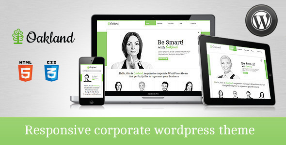 Oakland - Premium Responsive WordPress Theme