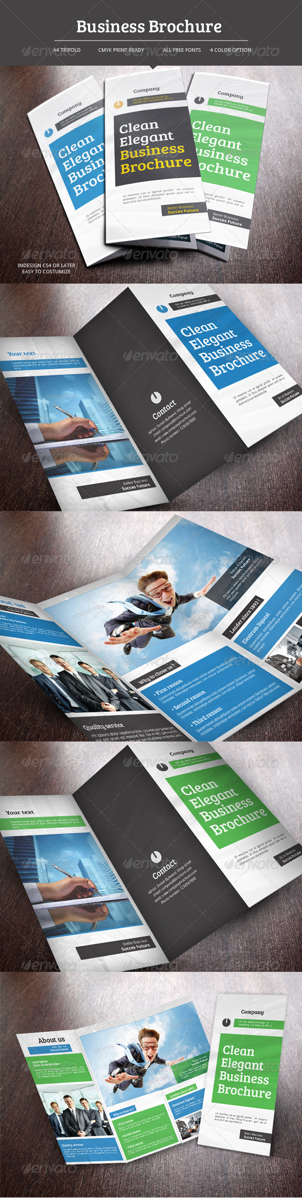 GraphicRiver Business Trifold Brochure 5766768