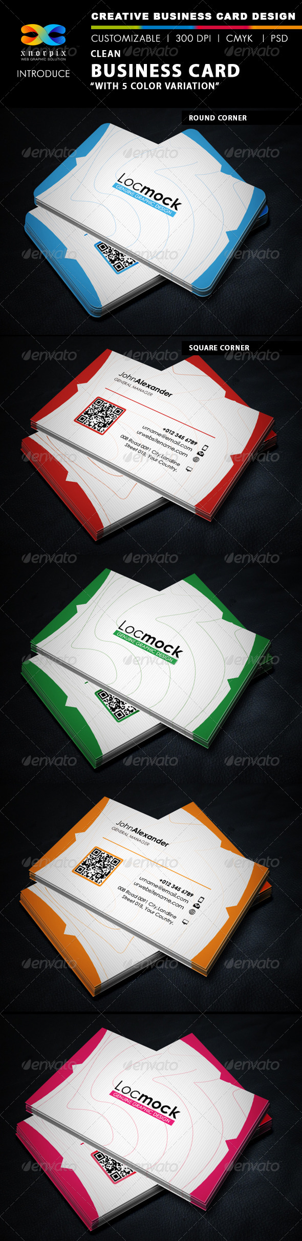 GraphicRiver Clean Business Card 5766771
