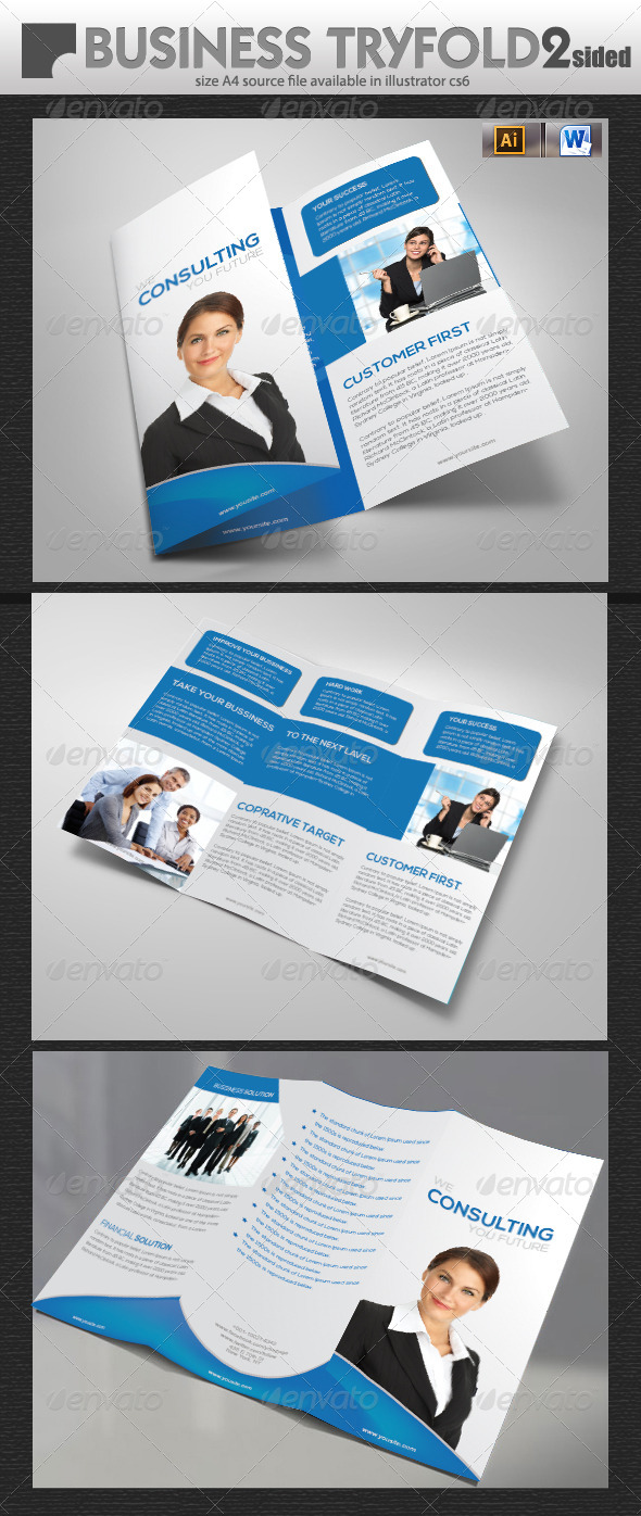 GraphicRiver Services Tri-Fold Design 5706679