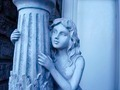 Lady Statue With Pillar - PhotoDune Item for Sale