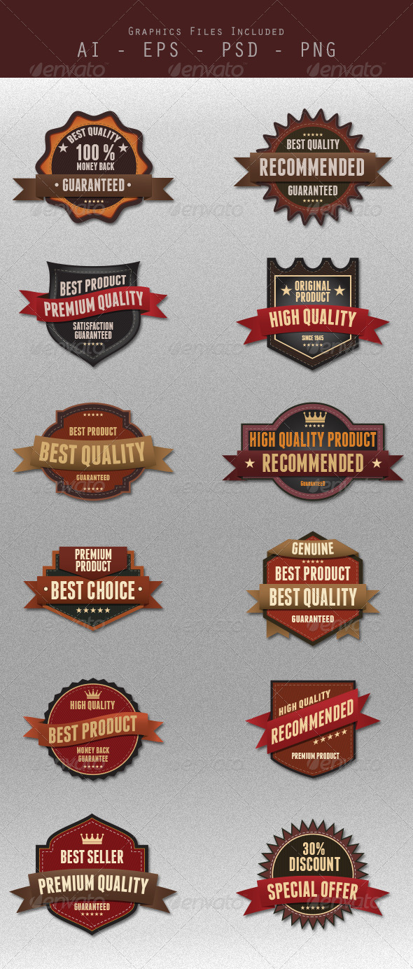 GraphicRiver Badges Design 5767935