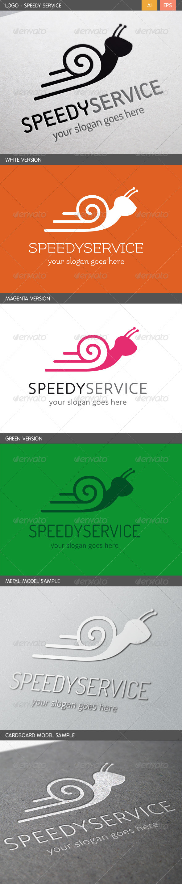 GraphicRiver Speedy Service Logo 5767951