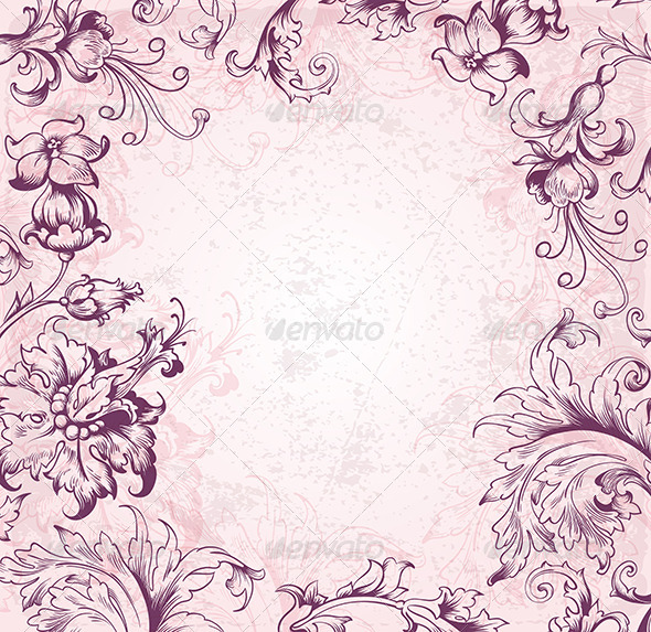 GraphicRiver Victorian Background 5767952