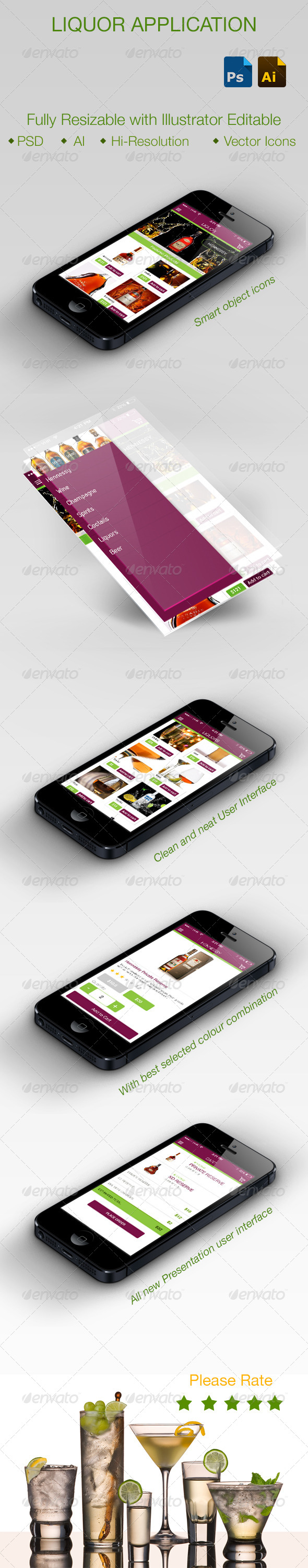 GraphicRiver Liquor Application 5767982