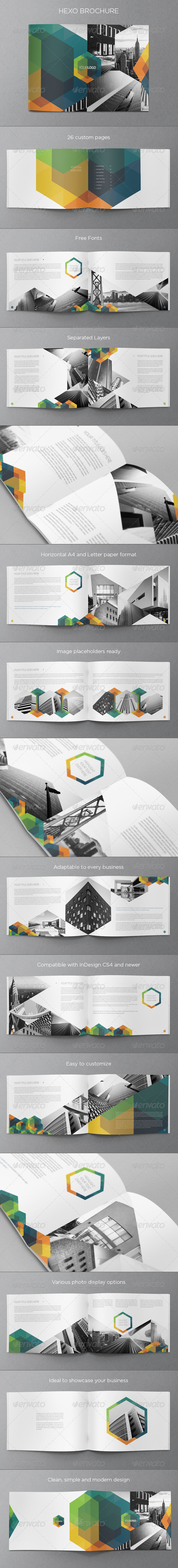 GraphicRiver Modern Hexo Brochure 5768372