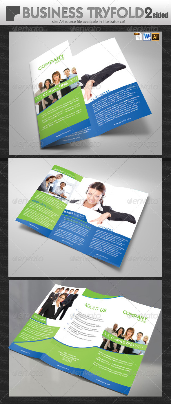 GraphicRiver Business Brochure Design 5714625