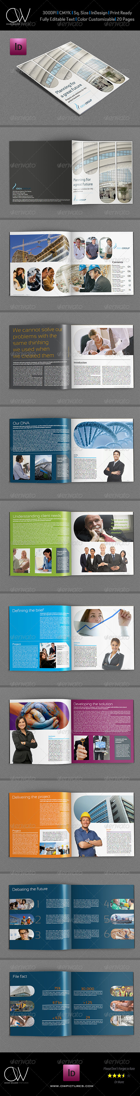 GraphicRiver Company Brochure Template Vol.10 20 Pages 5769179