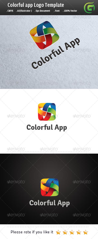 GraphicRiver Colorful App 5769855